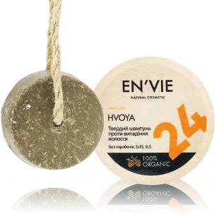 Твердый натуральный шампунь HVOYA. Против выпадения и для роста волос