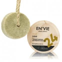 Твердый натуральный шампунь для жирных волос LAMI