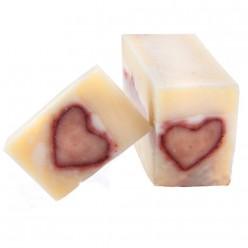 Парфюмированное натуральное мыло «Сердце Любви»