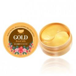 Гидрогелевые патчи для глаз с золотом KOELF Gold, Royal Jelly Eye Patch