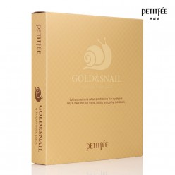 Маска для лица PETITFEE Gold & Snail Hydrogel Mask Pack