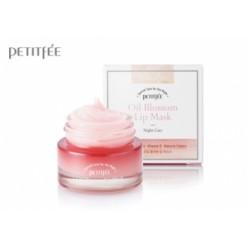 Маска ночная для губ с витамином Е и маслом камелии PETITFEE Oil Blossom Lip Mask
