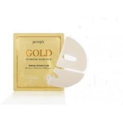 PETITFEE. Гидрогелевая маска для лица с золотомым комплексом +5